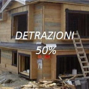 Detrazioni 50% lavori in casa