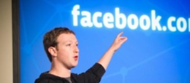 Mark Zuckerberg, durante una presentazione