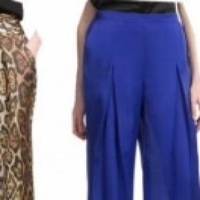 Los pantalones anchos son tendencia