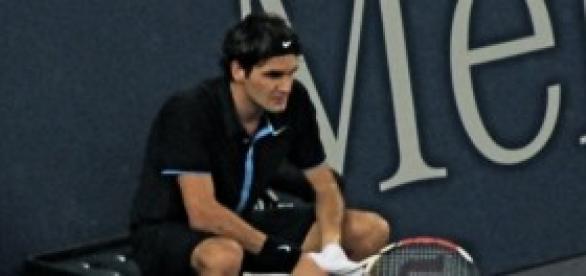 Roger Federer hace unos años.