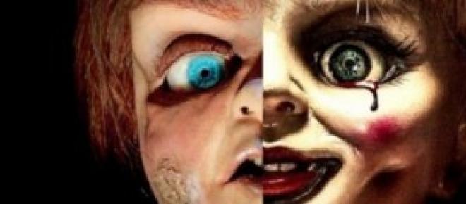 Anabelle e Chucky Reprodução: Google
