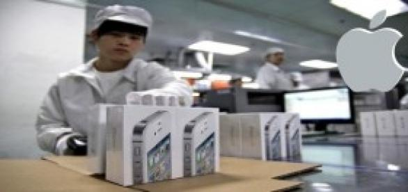 Apple Fabricacion del iphone