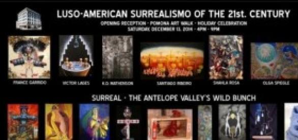 Poster exposição Latino Arte Museu