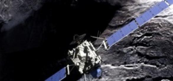 Rosetta, NASA satellite in orbit