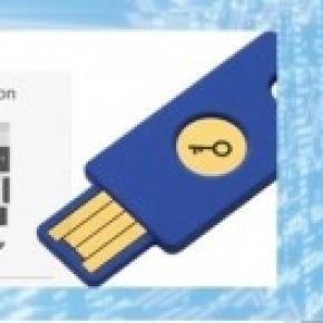 Security Key FIDO U2F  de Yubico