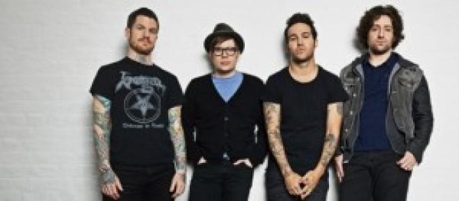 el grupo musical Fall Out Boys