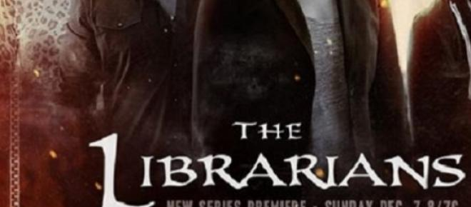 Galeria de fotos the librarians. TNT.
