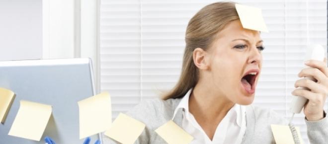 Le stress peut être difficile à gérer au travail.