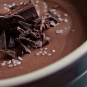 Mousse de chocolate para paladares exigentes