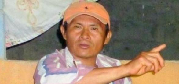 Ecuadorian activist Jose Isidro Tendetza