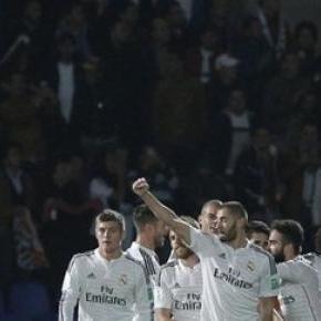 El Madrid arrasa 4 a 0 al Cruz Azul