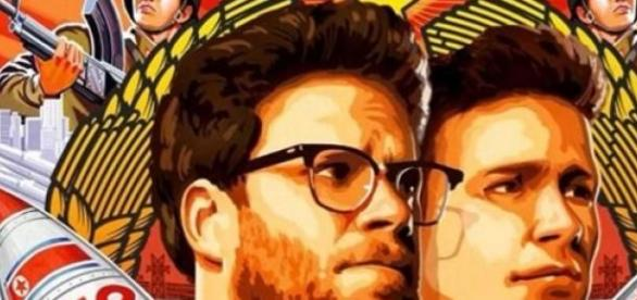 Interview Poster Seth Rogen James Franco