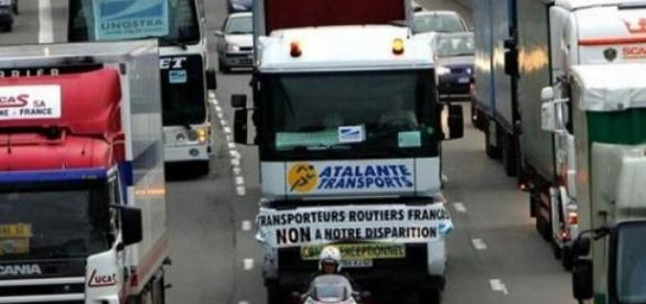 Touche pas à mon camion sinon ...