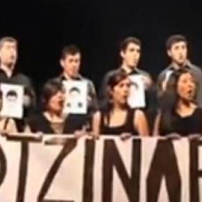 El coro Ipsun en Talca, Chile