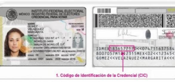 Nueva credencial de elector