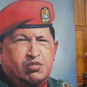 Maduro s'appuie sur Chavez. www.ibtimes.com