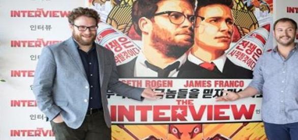 La Entrevista Sony Pictures estreno