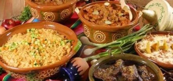 Platos de la cocina tradicional mexicana