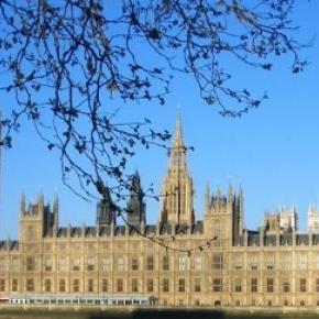 London houses of parliament