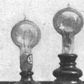 Edison's Incandescent lightbulbs