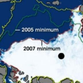 El alarmante deshielo del ártico