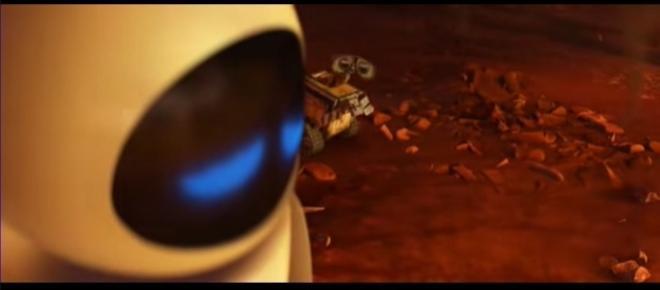 Fotograma de Wall-E, película recomendada