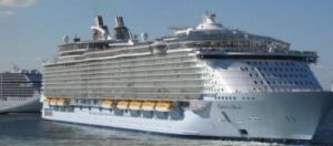 Oasis of the Seas é um dos maiores navios do mundo