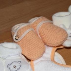 Primeiras roupas para o bebé