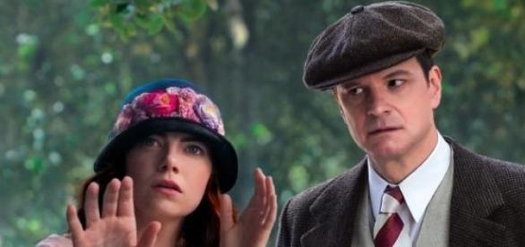 Colin Firth et Emma Stone, Magic in the Moonlight