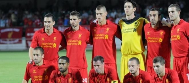Liverpool Football club players
