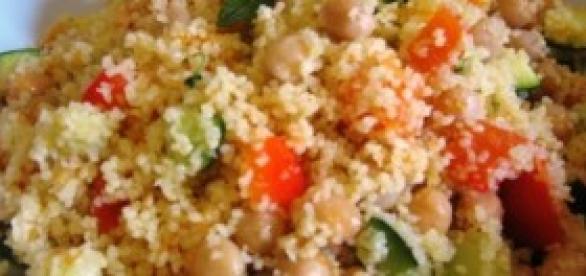 un piatto tipico della cucina etnica, il cous cous