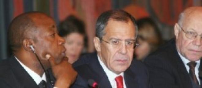 Sergej Lavrov, ministro russo degli affari esteri
