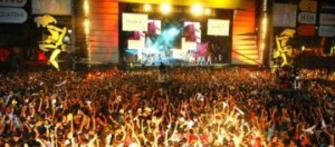 Festivais de música no Verão