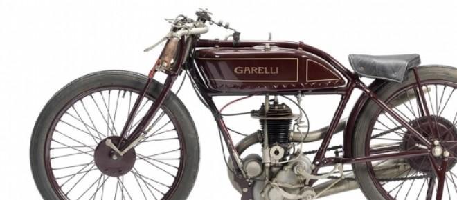 Motocicleta antiga Garelli