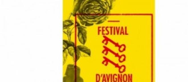 Affiche du Festival d'Avignon 2014.