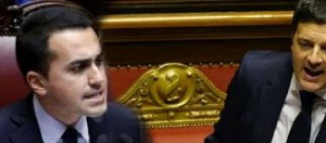 Luigi di Maio e Matteo Renzi