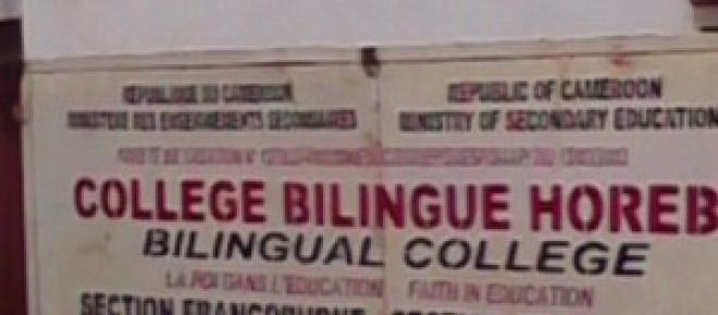 Le collège bilingue Horeb, nouvelle année scolaire