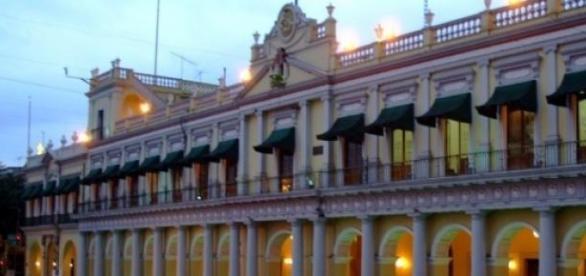 Palacio de Gobierno, en la capital del estado
