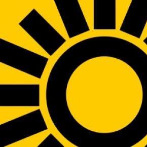 El sol azteca, símbolo del PRD