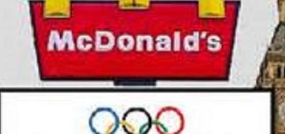 McDonald's linked itself with London 2012