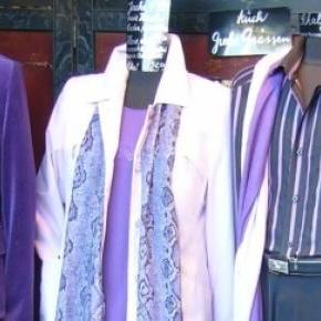 A contrafacção de roupa gera lucros de milhões.