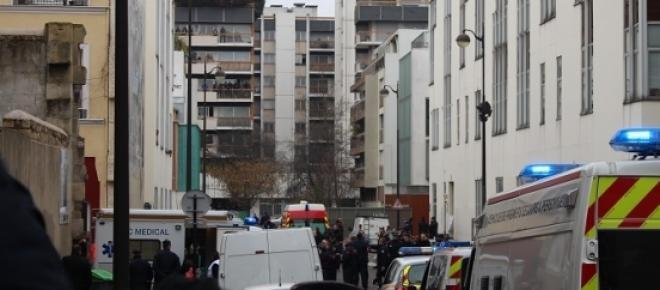 As ruas de Paris lugar do último ataque terrorista