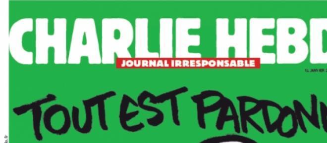 Nova Capa da Revista Charlie Hebdo
