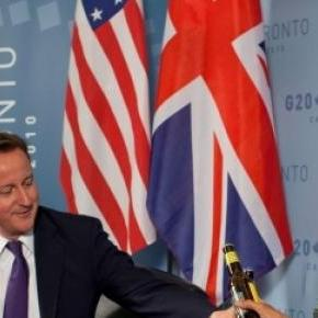 Cameron and Obama at G20 summit in Toronto