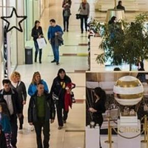 typisches Einkaufszentrum in deutschen Städten