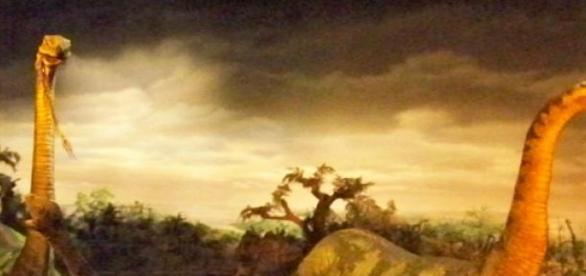 Los dinosaurios, extinguidos en la prehistoria