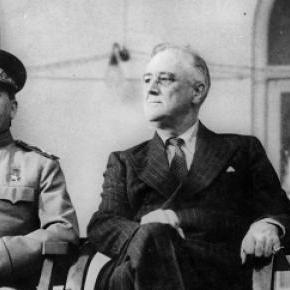 cei trei mari Stalin,Roosvelt si Churchill