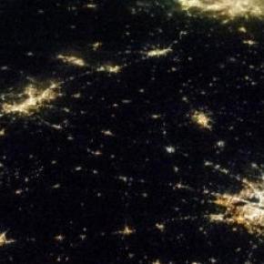Ciudades terrestres parecen crecer como galaxias