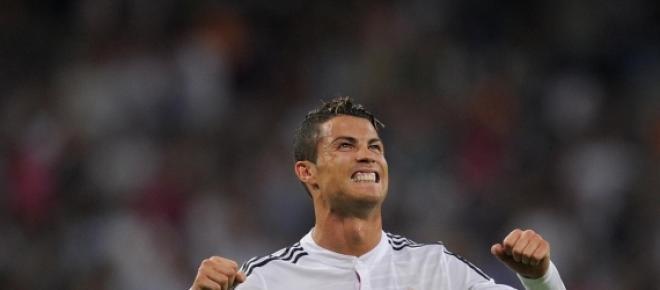 CR7 le dio los tres puntos al Madrid
