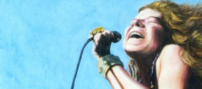 Janis Joplin (1943-1970), cantante de rock y blues